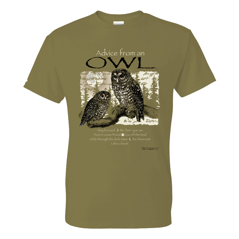 Advice from an Owl Tee