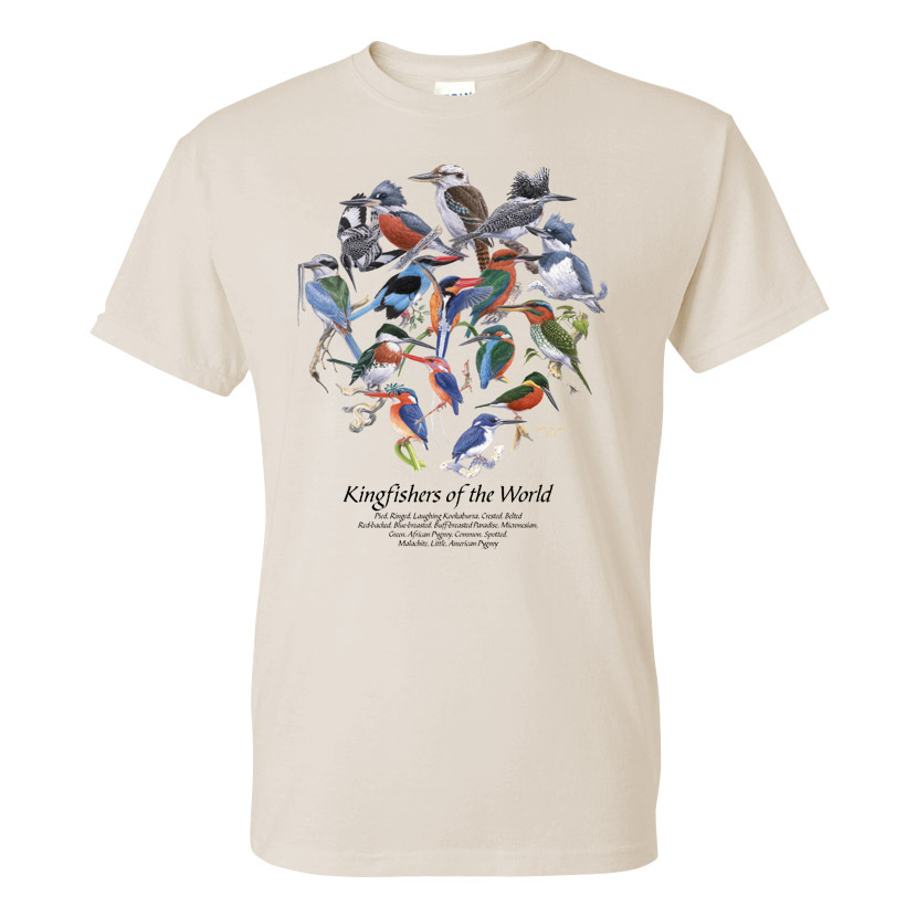 Kingfishers of the World T-Shirt