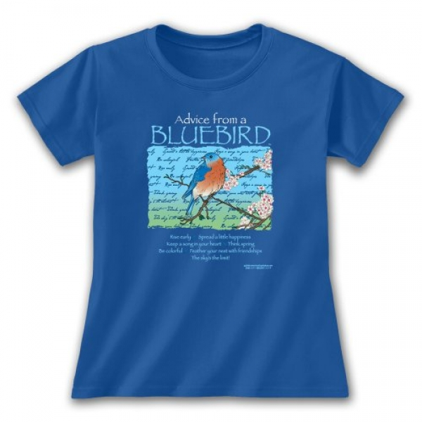 Advice from a Bluebird Tee