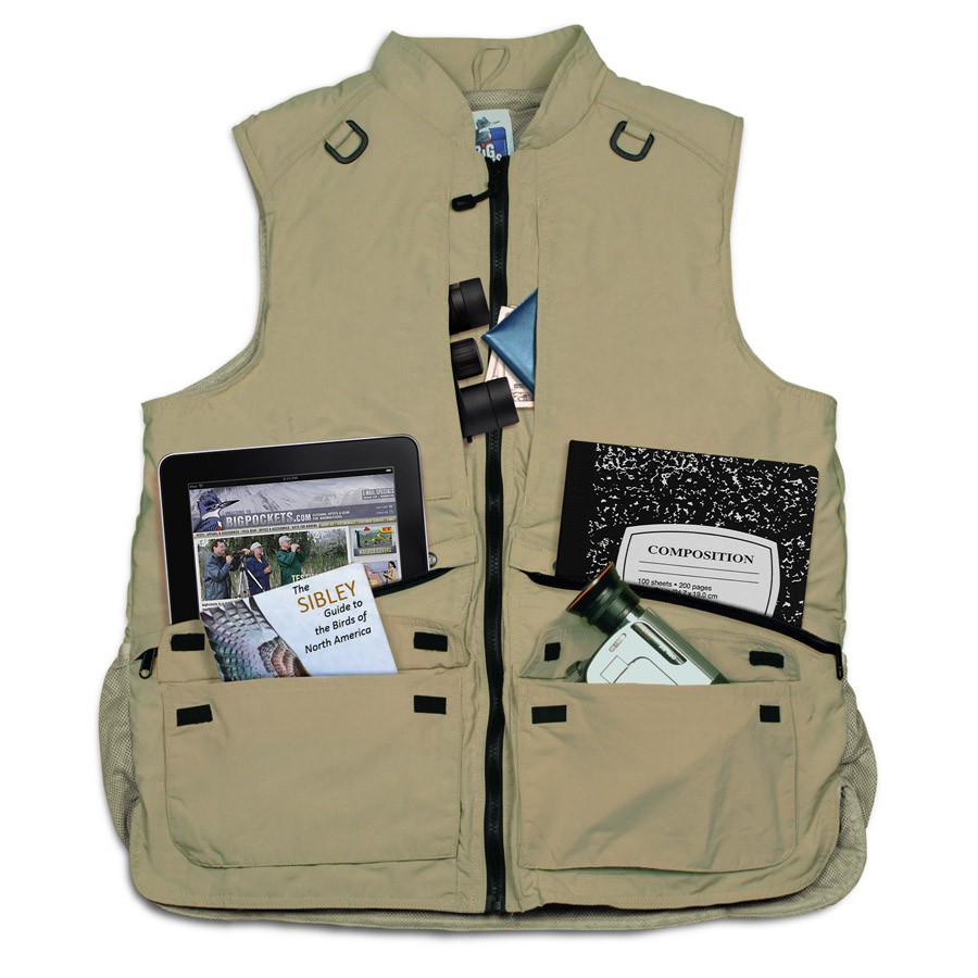 Big Pockets Tropical Vest (10 Pockets) - Big Pockets Clothing