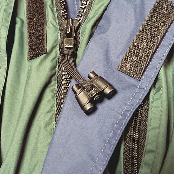 Binocular-Shaped Zipper-Pull